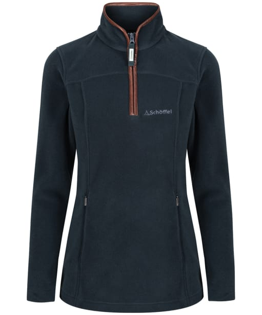 Women's Schoffel Tilton 1/4 Zip Fleece - Kingfisher