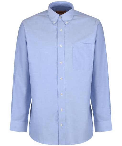 Men's Schoffel Oxford Shirt - Blue
