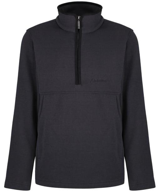 Men's Schoffel Holborn 1/4 Zip Fleece - Charcoal