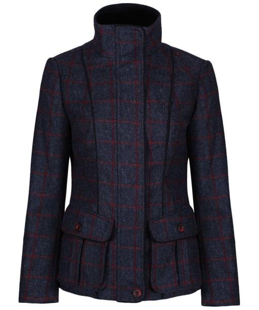 Women's Jack Murphy Prue Tweed Jacket - Navy Check