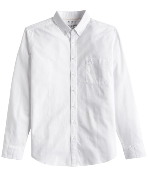 Men's Joules Laundered Oxford Shirt - White