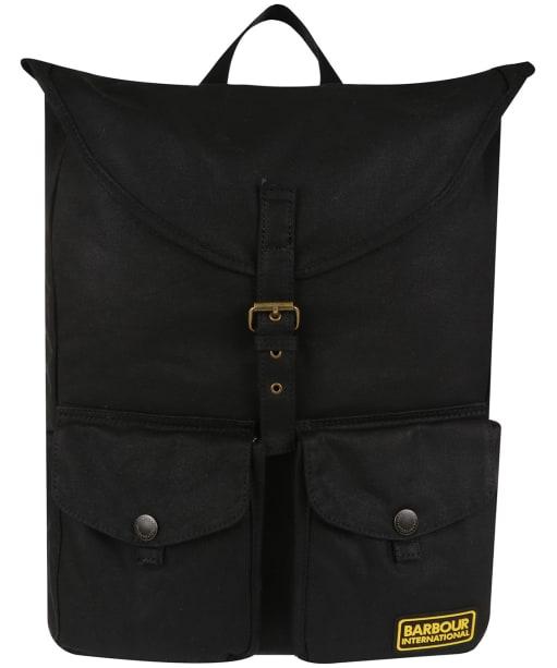 Barbour International Blackwell Backpack - Black/Blue