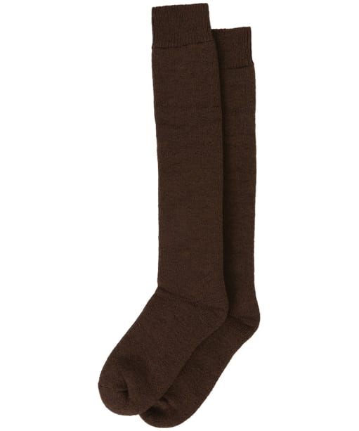 Men's Barbour Wellington Socks - Dark Brown