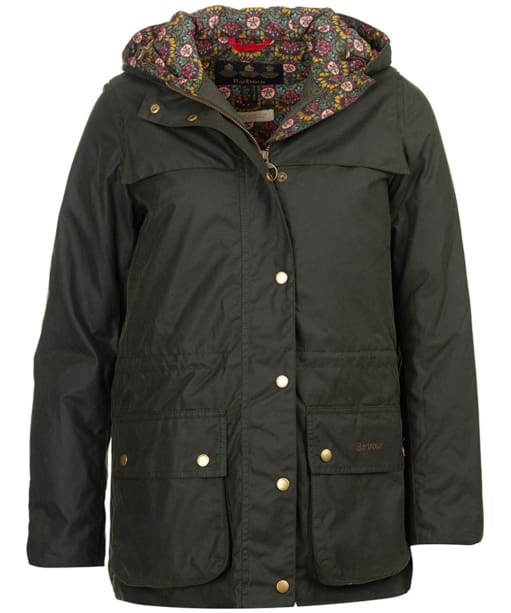 Women's Barbour Blaise Waxed Jacket - Sage