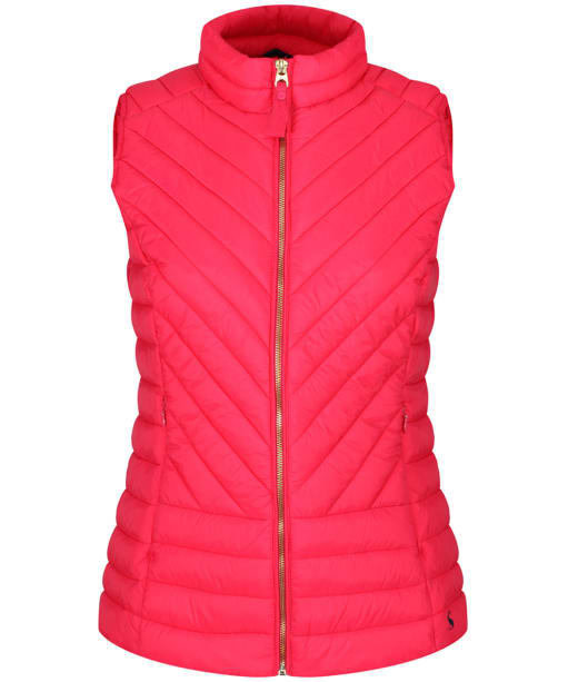 Women's Joules Brindley Gilet - Redcurrant