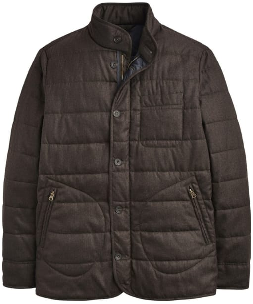 Men's Joules Ferncroft Barrel Jacket - Bark Brown