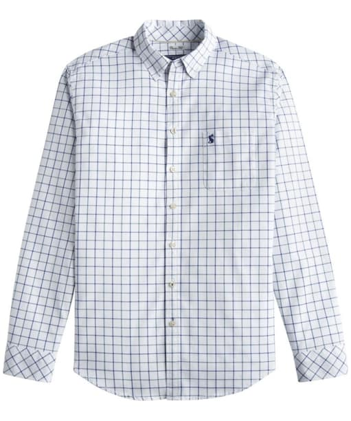 Men's Joules Wilby Check Shirt - Blue Check