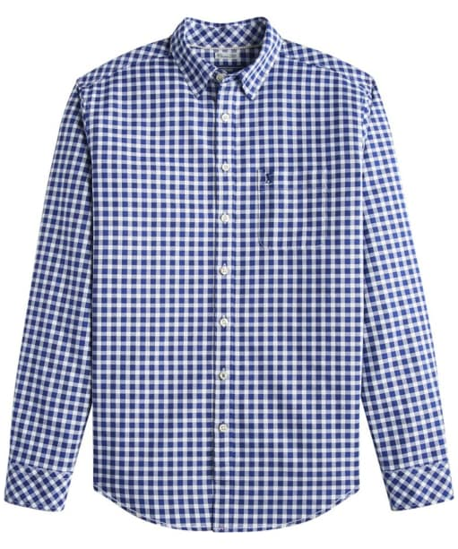 Men's Joules Wilby Check Shirt - Blue Oxford Check