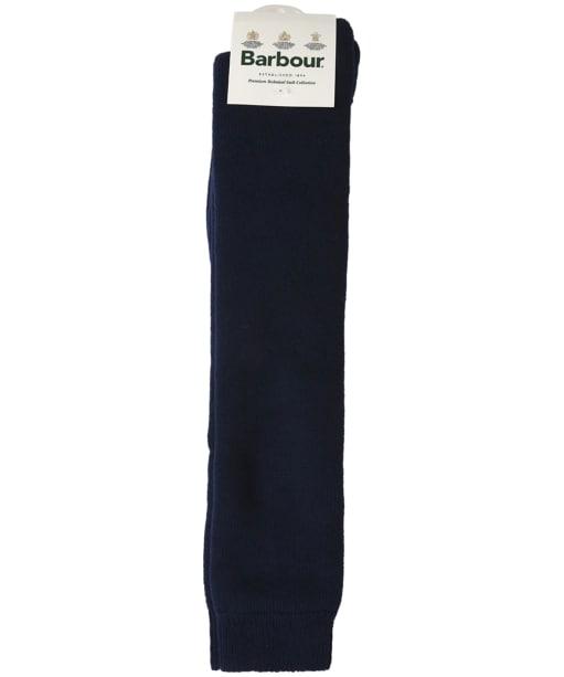 Men's Barbour Wellington Socks - Navy