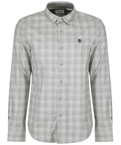 Men's Timberland Back River Light Twill Check Shirt - Micro Chip Heather
