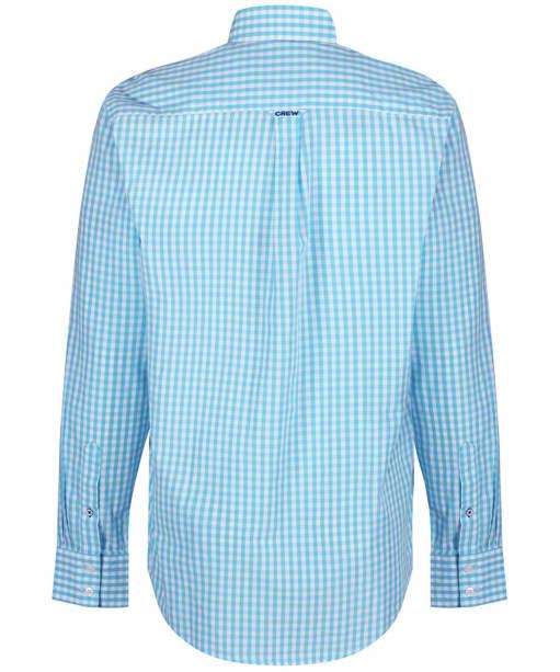 Men's Crew Clothing Classic Gingham Shirt - Blue Topaz