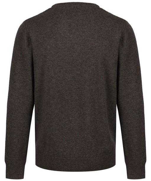Men's Schoffel Lambswool V Neck Sweater - Mole