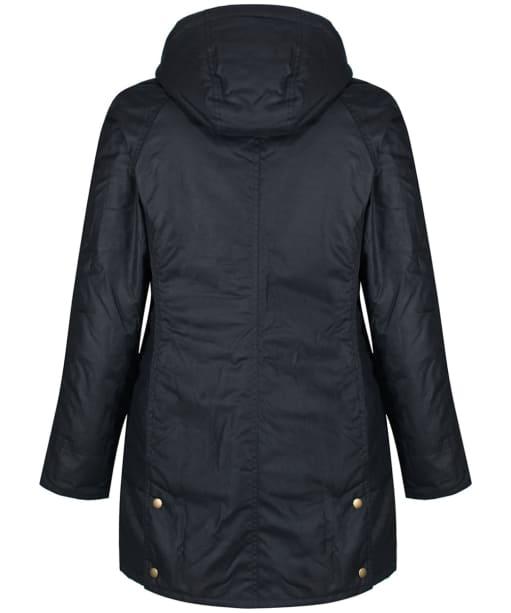 Women's Barbour Bower Wax Jacket - Navy