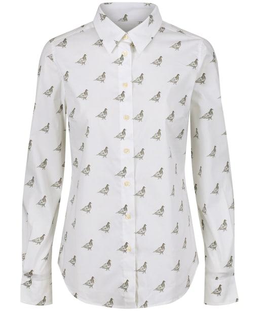 Women's Schoffel Norfolk Shirt - Grey Ptarmigan