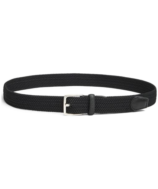 Men's GANT Elastic Braid Belt - Black