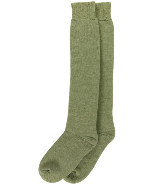 Women's Barbour Knee Length Wellington Socks - Green
