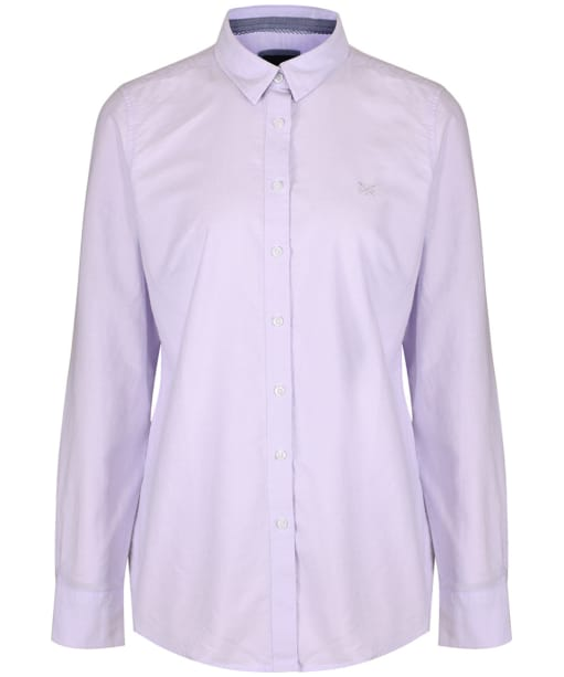 Women's Crew Clothing Classic Oxford Shirt - Lilac