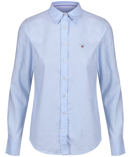 Women's GANT Stretch Oxford Shirt - Light Blue