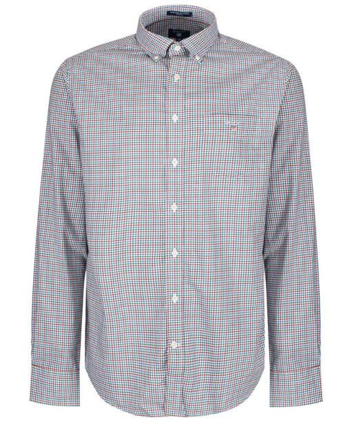 Men's GANT Broadcloth Gingham Shirt - Smoked Paprika