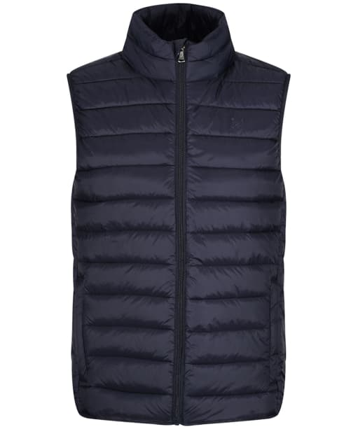 Men's Crew Clothing Lightweight Down Gilet - Dark Navy