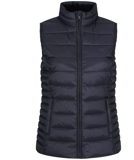 Women's Crew Clothing Lightweight Gilet - Dark Navy