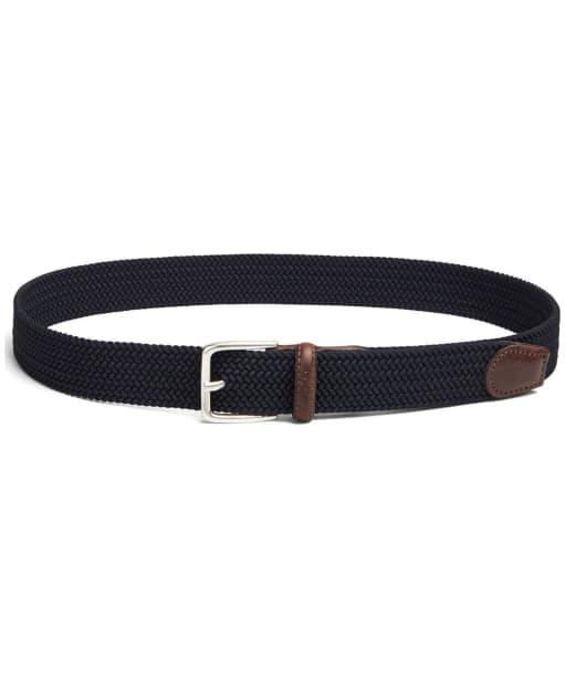 Men's GANT Elastic Braid Belt - Navy