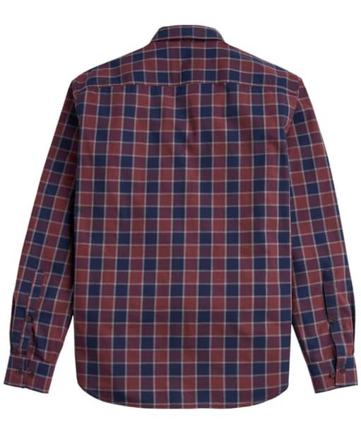 Men's Joules Lanston Marl Check Shirt - Back