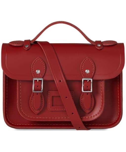 Women's The Cambridge Satchel Company Magnetic Mini Leather Satchel - Red
