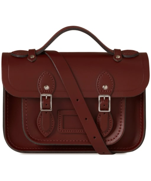 Women's The Cambridge Satchel Company Magnetic Mini Leather Satchel - Oxblood