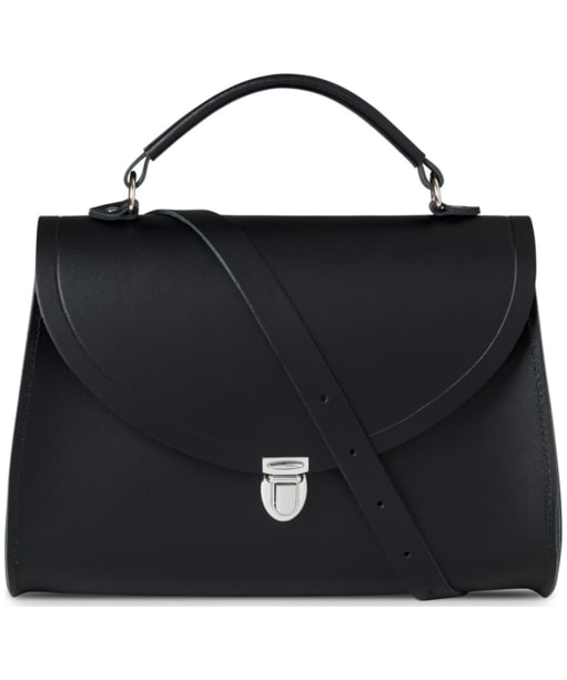 Women's The Cambridge Satchel Company Poppy Leather Bag - Black