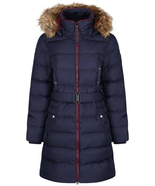 Women's Aigle Rigdown Long Puffer Jacket - Dark Navy