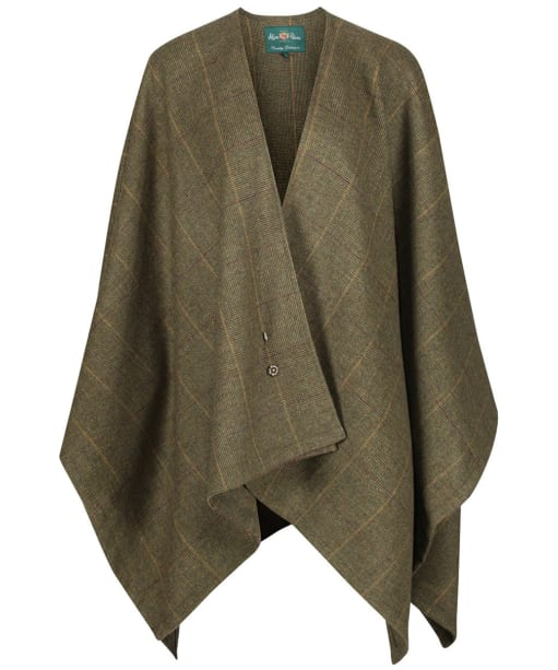 Women's Alan Paine Combrook Ladies Tweed Wrap - Heather