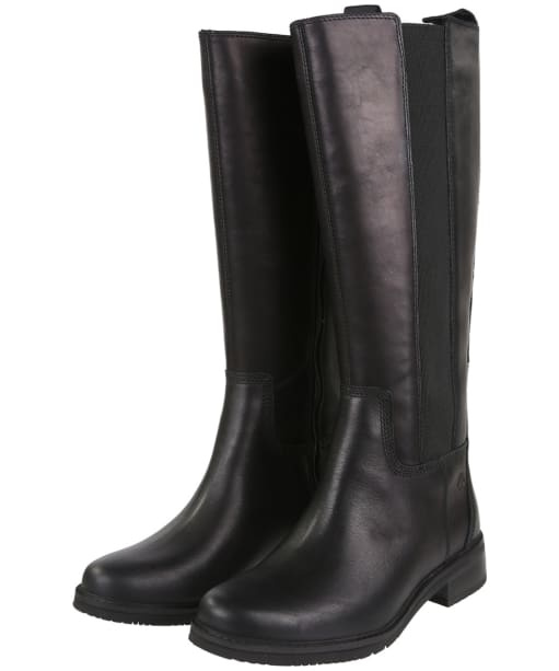 Women's Timberland Mont Chevalier Tall Boots - Jet Black
