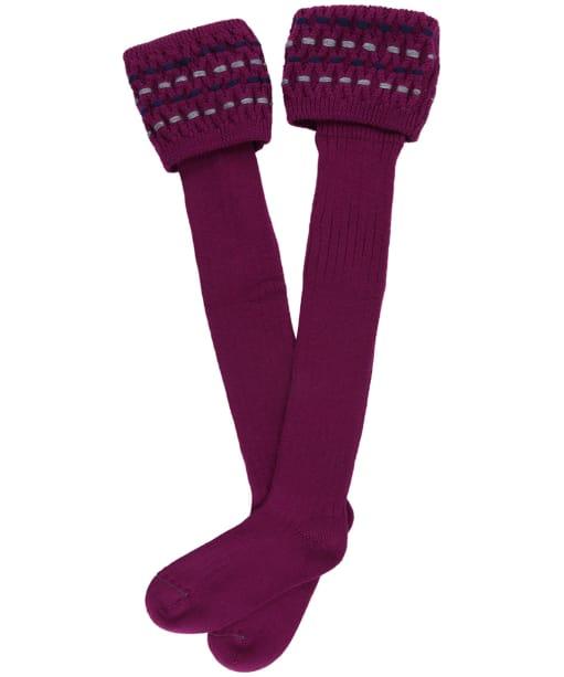 Women's Schöffel Stitch Sock II - Dahlia