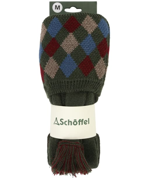 Men's Schoffel Ptarmigan Pro Socks - Forest / Mulberry / Mink / Denim