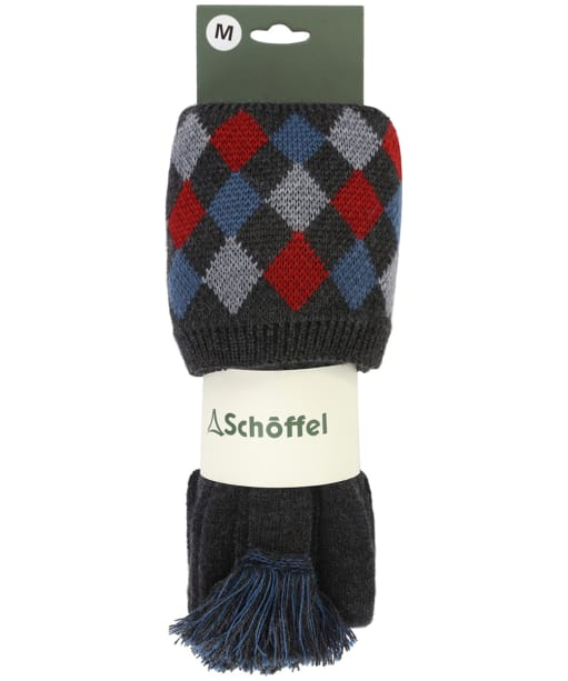 Men's Schoffel Ptarmigan Pro Socks - Flannel / Red / Grey / Denim