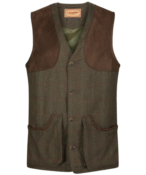 Men's Schoffel Ptarmigan Tweed Waistcoat II - Windsor Tweed