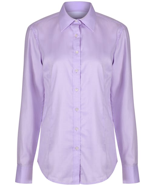Women's Alan Paine Bromford Check Shirt - Lilac