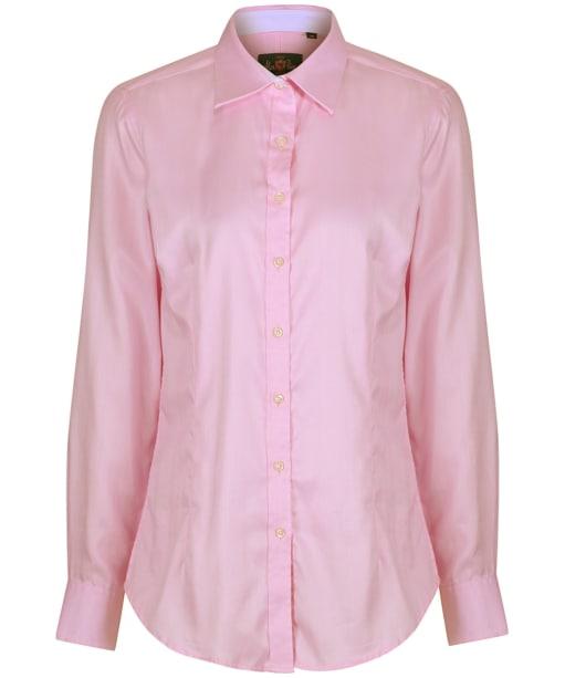 Women's Alan Paine Bromford Check Shirt - Pink