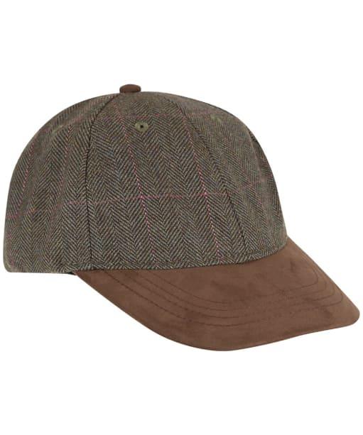 Men's Schöffel Tweed Baseball Cap - Cavell Tweed