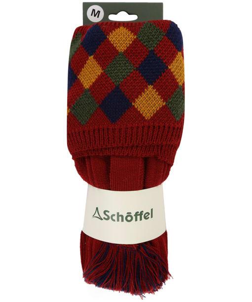 Men's Schöffel Ptarmigan II Socks - Brick / Ochre / Dark Olive / Navy