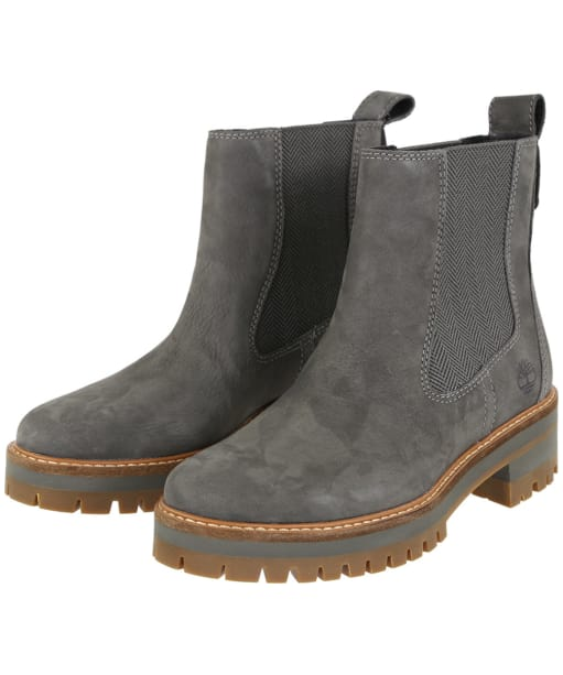 Women's Timberland Courmayeur Valley Chelsea Boots - Dark Grey