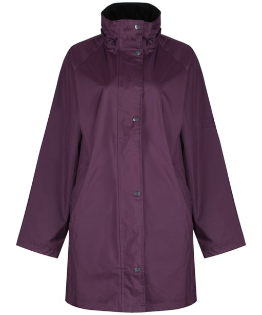 Women's Jack Murphy Oxford Coat - Blackberry