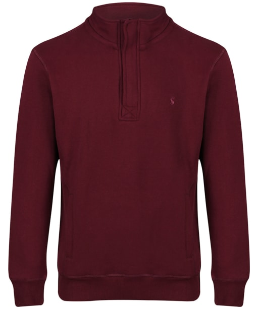 Men's Joules Oakhurst Funnel Neck Sweatshirt - Port