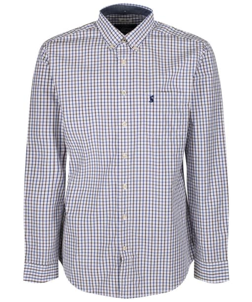Men's Joules Hensley Check Shirt - Blue Multi Check