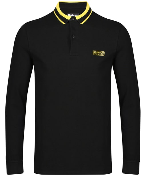 Men's Barbour International Spark Polo Shirt - Black