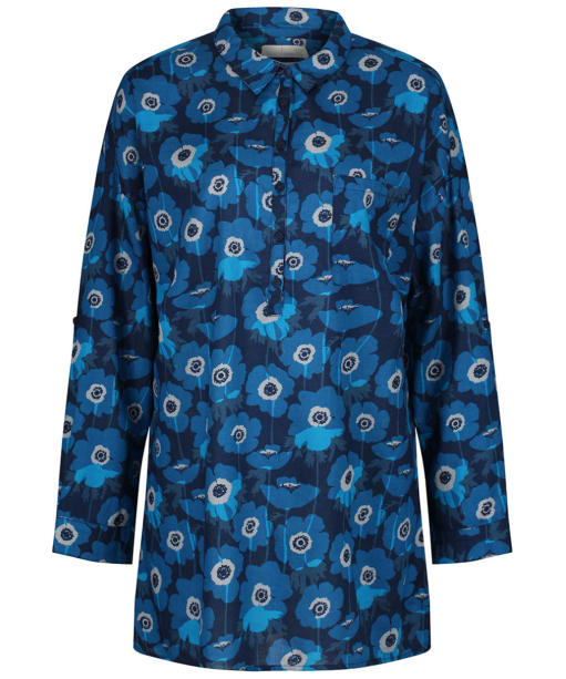 Women's Seasalt Polpeor Tunic Shirt - Anemones Night