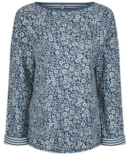Women's Seasalt Narrator Top - Wild Heligan Starling
