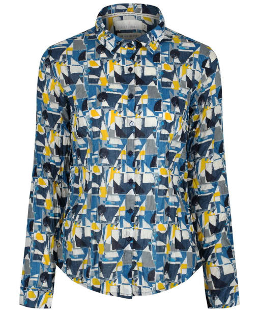 Women's Seasalt Larissa Shirt - Cut About Boat Pebble