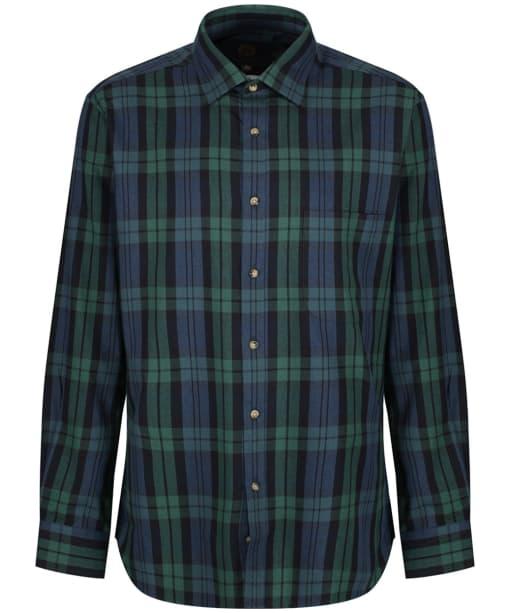 Men's Viyella Tartan Shirt - Black Watch